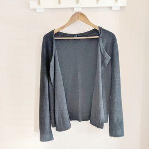GAP Dark Blue Combed Cotton Cardigan Size Large